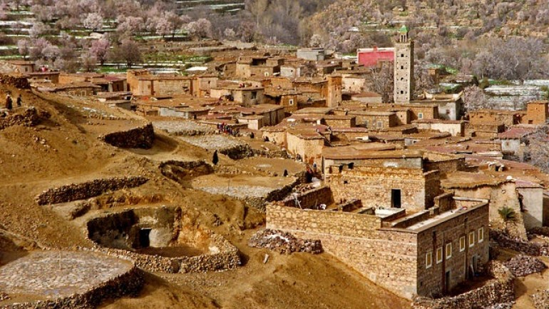 Berber villages tours. Trek In Morocco.