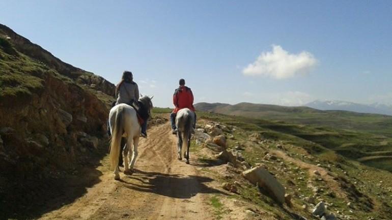 Horse riding with Trek in Morocco