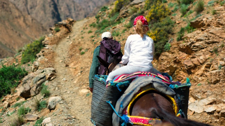 Yagour Plateau trek. Join Trek In Morocco for trekking in the Atlas Mountains!